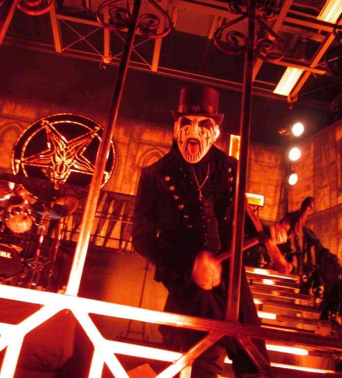 King Diamond at Stage AE  (Photo by Brian Krasman)