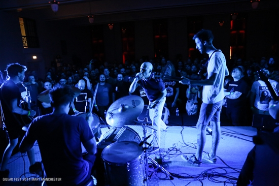 Thou at Gilead Fest, July 2014 (Photo by Mary Manchester)